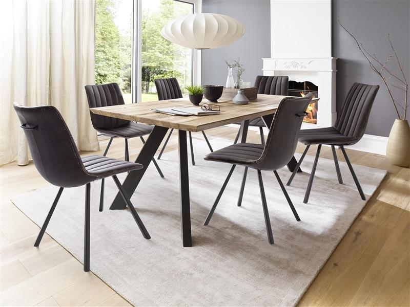 esstisch dtx24 eiche 220 x 100cm chf. Black Bedroom Furniture Sets. Home Design Ideas